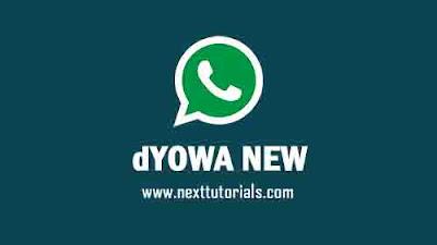WhatsApp Mod dYOWA v58 Apk Latest Version 2021 Anti Banned,Install Aplikasi dYOWhatsApp iOS Terbaru 2021,tema dyowa keren,download wa mod anti ban,