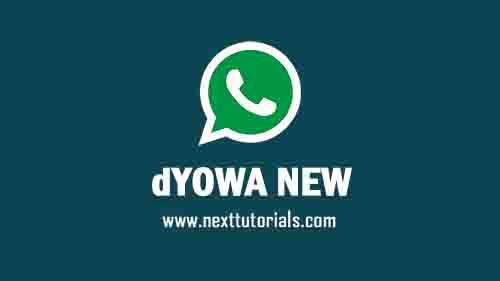 WhatsApp Mod dYOWA v62 Apk Latest Version 2021 Anti Banned,Install Aplikasi dYOWhatsApp iOS Terbaru 2021,tema dyowa keren,download wa mod anti ban,