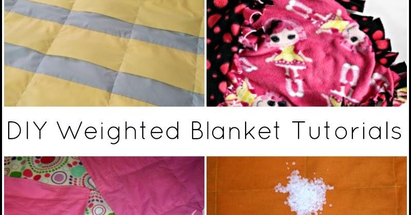 13 DIY Weighted Blanket Tutorials