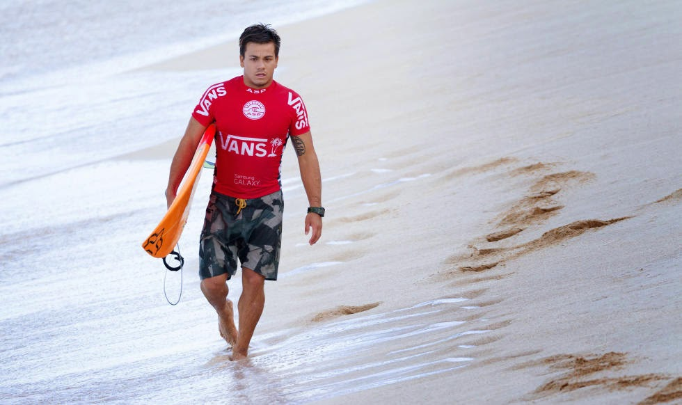 57 Vans World Cup of Sufing 2014 Keanu Asing Foto ASP