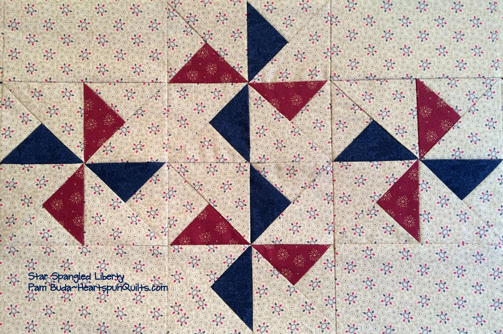 Heartspun Quilts Pam Buda Star Spangled Sewing