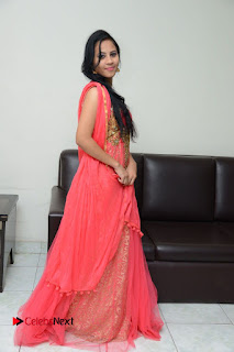 Actress Aasha Rakul Pictures in Red Long Dress at Vetade Puli Audio Launch  0121.JPG