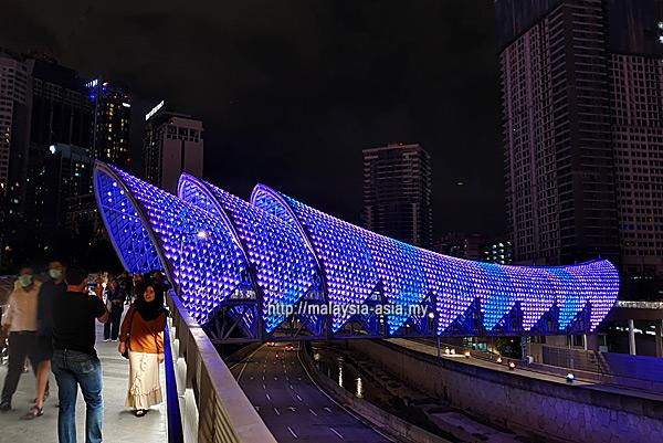 Saloma Bridge Kuala Lumpur