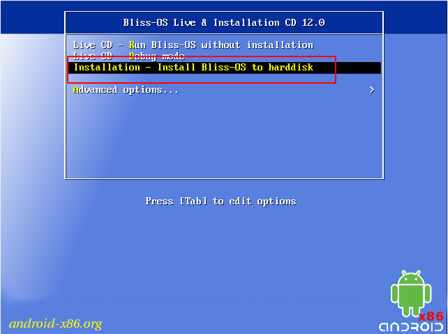 How to install Android 10 on PC - Bliss OS 12 full