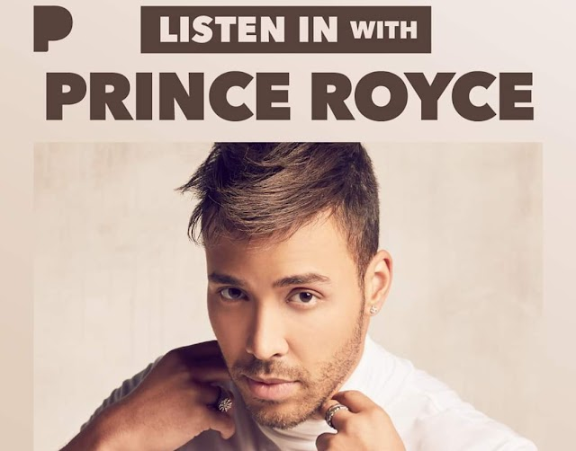 COVID-19 : Prince Royce Created Playlist on Pandora for their Fans to Listen from Home