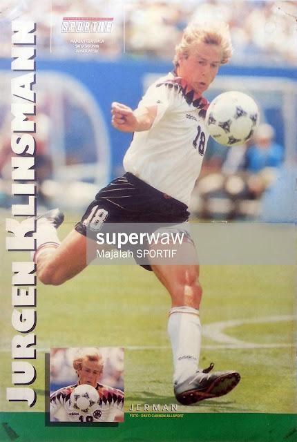JURGEN KLINSMANN GERMANY DEUTSCHLAND 1994