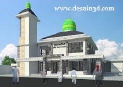 Jasa Gambar Mushola Desain Masjid