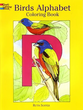 Birds Alphabet Coloring Book (Dover Coloring Books)
