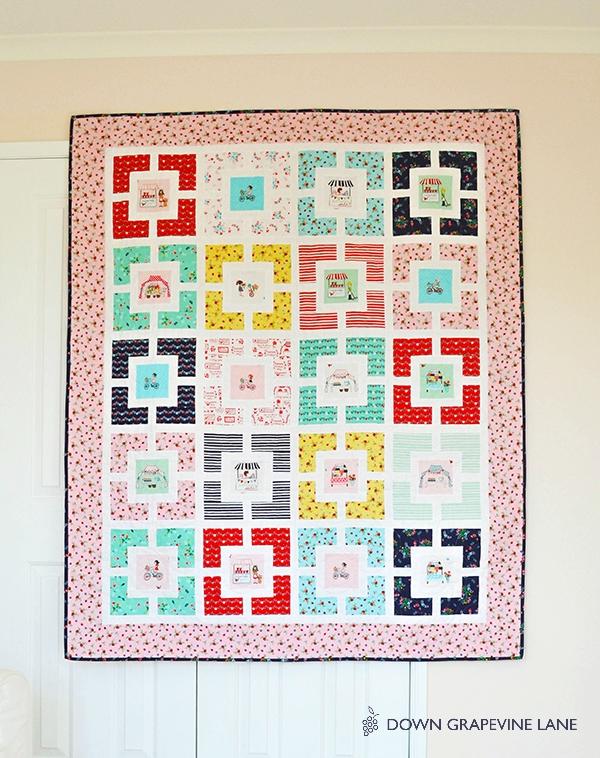 Garden Lattice Quilt Pattern : garden, lattice, quilt, pattern, Grapevine, Lane:, Garden, Lattice, Quilt, Finished