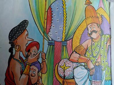 HINDI STORY : राजा और मंत्री ! ( जंगल की कहानिया ) ( दादी माँ की कहानिया )