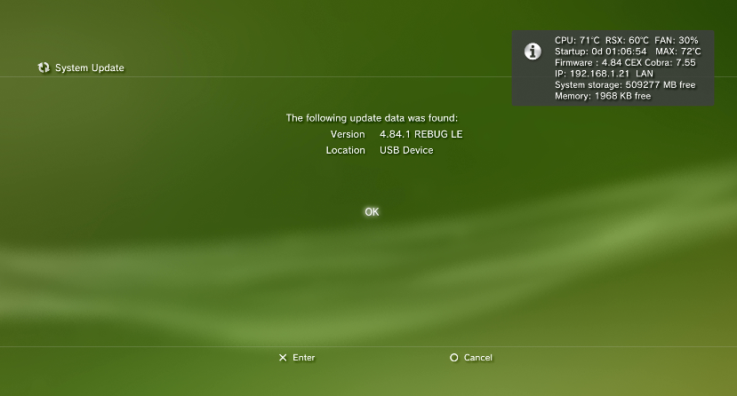 PS3 CFW 4 84 1 REBUG LITE EDITION Released by Team REBUG - Consoleinfo