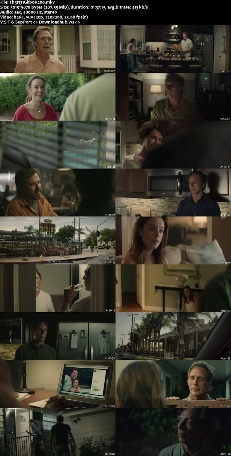 The Neighbor 2017 English 480p Web-DL