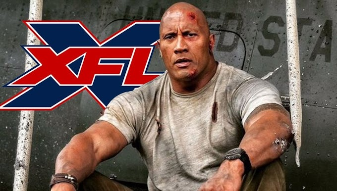 Dwayne The Rock Jonshon salva a la XFL