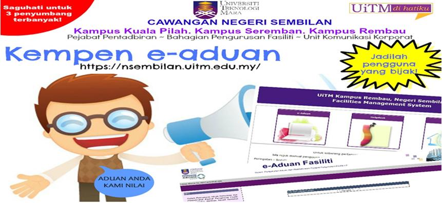 Senarai bidang kursus dan program yang ditawarkan di UiTM Negeri Sembilan
