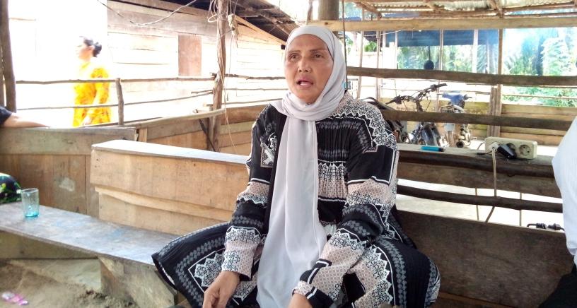Ketua Kelompok Tani A.Gani Kecamatan Mendahara Ulu