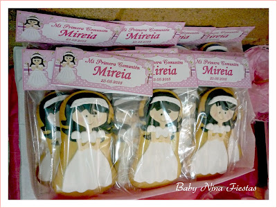 galletas personalizadas comunion