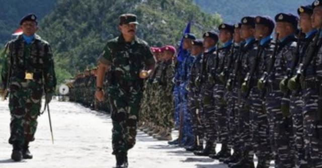 TNI Kerahkan 6 Ribu Personel Kawal Pelantikan DPR dan Jokowi - Kiai Mar'uf