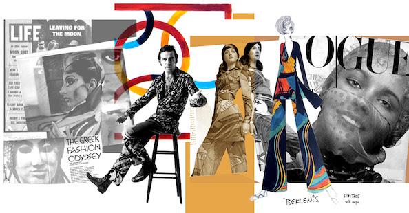 TSEKLENIS:  Τα Χρόνια της Μόδας - Εγκαίνια 7 Οκτωβρίου της μεγάλης αναδρομικής έκθεσης