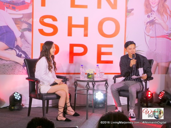 Sandara Park at Edsa Shangri La Press conference