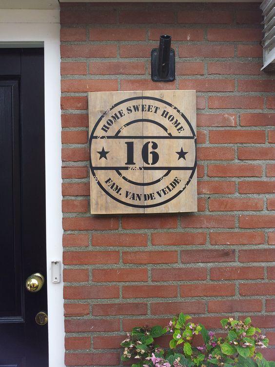 Unique House Numbers & 10 Farkl Ev Numaras - USTA GREMEZ