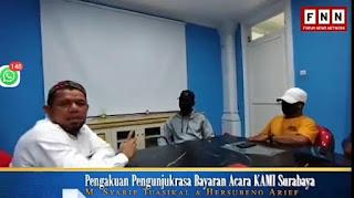 Jenderal Gatot Benar, Mahasiswa Penolak Acara KAMI Surabaya Ngaku Dibayar 100 Ribu