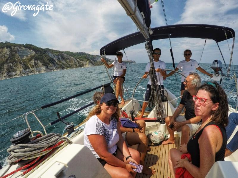 barca four sailing