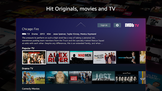 IMDb TV, serviço de streaming gratuito da Amazon, é lançado no Reino Unido