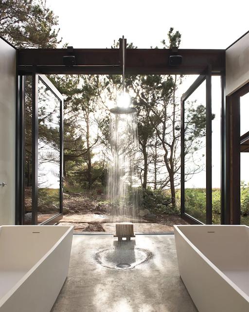 แบบห้องน้ำ Open Air