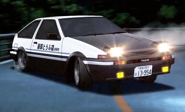 Toyota Sprinter Trueno AE86 Initial D
