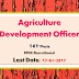 141 Posts of Agriculture Development Officer (Group-A)