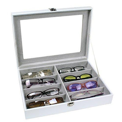 Buy Wholesale Leatherette Eyewear Case For 8 Frames Sunglasses at NileCorp.com