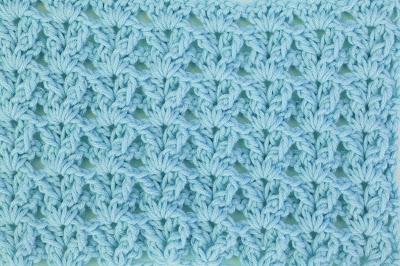 6 - Crochet Imagenes Puntada a crochet en abanicos muy facil y sencilla por Majovel Crochet