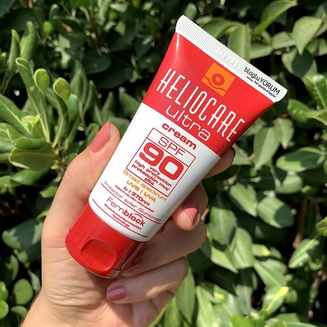 Heliocare Ultra Cream SPF 90 güneş kremi incelemesi 3