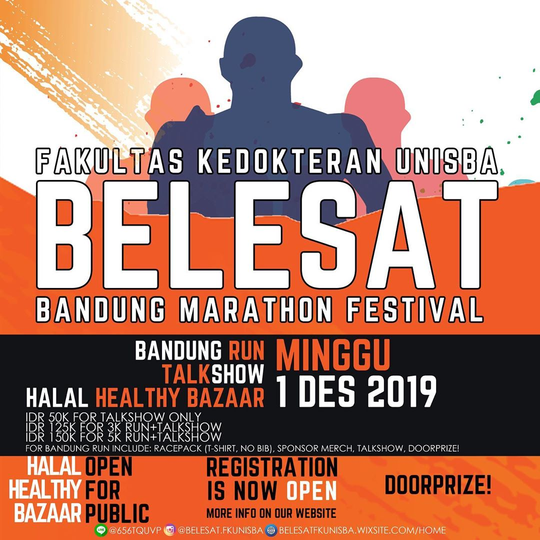 Bandung Marathon Festival - Belesat FK Unisba • 2019