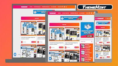 ThemeHint Premium Blogger Template by Kamran Jaisak