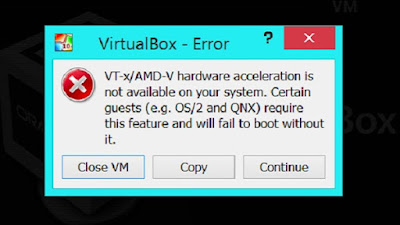 Intel Virtualization Technology Vt X Is Not Turned On