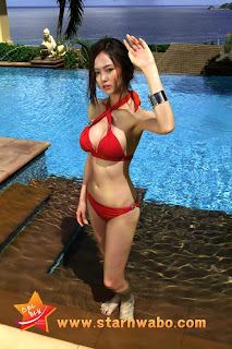 Oh Cho Hee Korean Sexy Model Hot Swimsuit 9