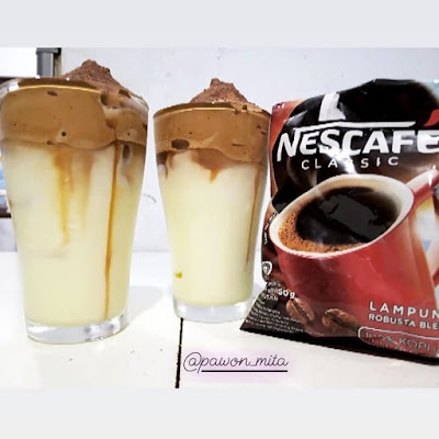 Resep Minuman Dalgona Coffe Nescafe