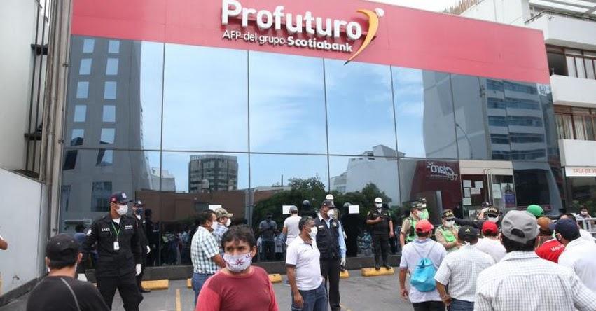 AFP: Afiliados que no aportaron hace seis meses podrán retirar S/ 2,000 de su fondo de pensiones