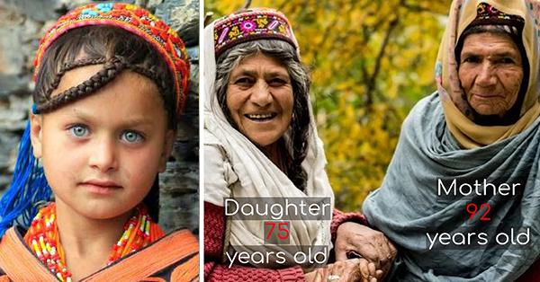 70' yaşında  doğuruyorlar, Ortalama 120 yıl yaşıyorlar, Kanser nedir bilmiyorlar.