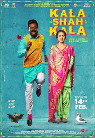 Poster Of Pollywood Movie Kala Shah Kala 2019 300MB PdvdRip 480P Full Punjabi Movie