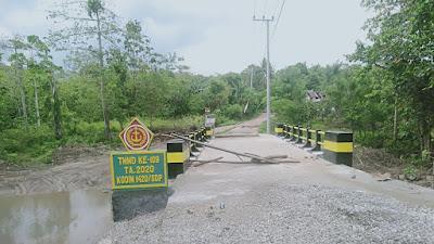 Renovasi Jembatan TMMD Pabbaresseng Sudah Rampung 100 Persen