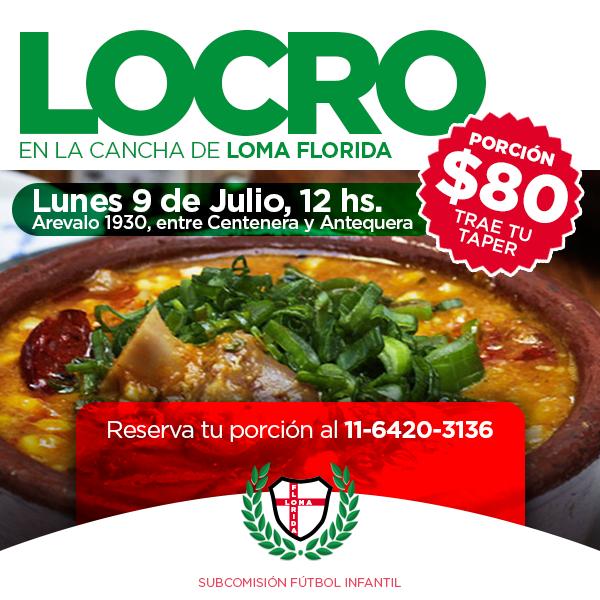 Flyer para el Club Loma Florida