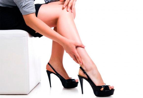 dor nas pernas, varizes, problemas de circulação