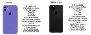 مقارنة بين هاتفي آيفون iPhone 11 و آيفون iPhone 11 Pro