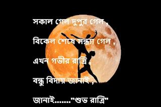 Bangla Romantic Good Night SMS - bangla shuvo ratri sms [ Bangla Love SMS]