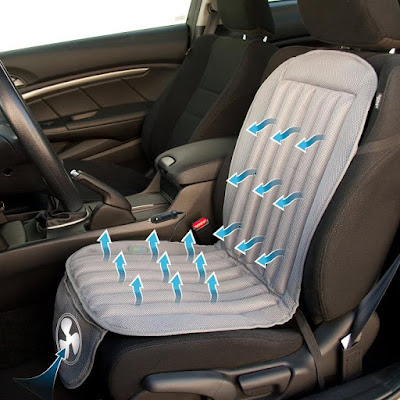 Perfect Gadgets To Keep You Cool - Cool Air Car Cushion
