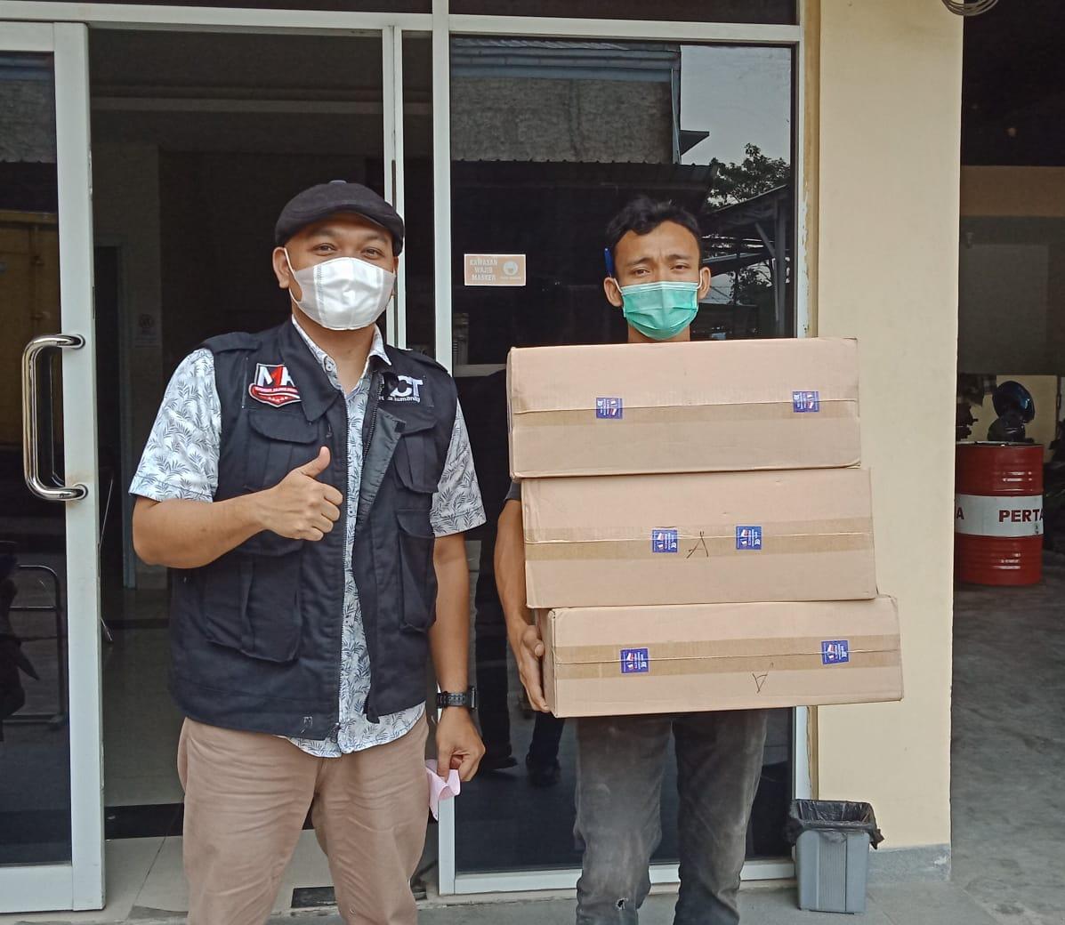 CV. Anugerah Jaya Tjemerlang (AJT) Salurkan 3000 Masker untuk Panti Asuhan Peduli Harapan Bangsa (PHB) dan Pondok Pesantren di Lampung