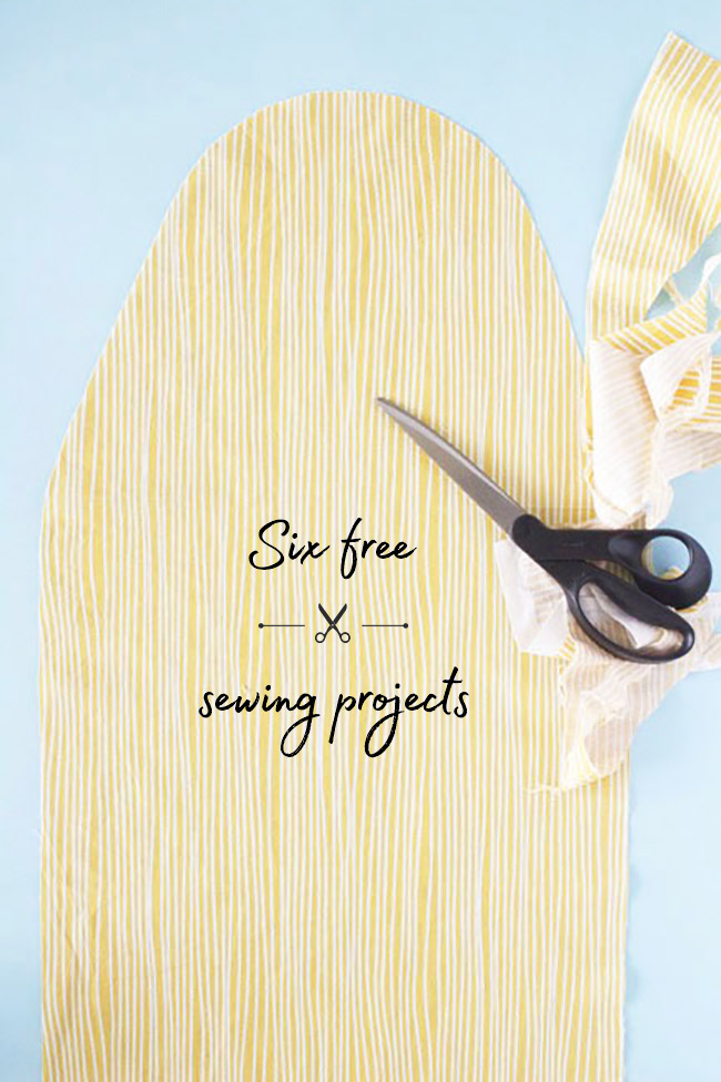 Six free sewing projects