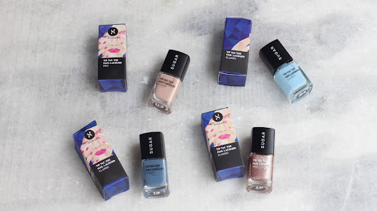 Sugar Cosmetics Tip Tac Toe Nail Lacquer Swatches and Review